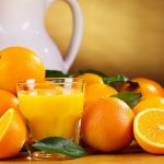 Bottle, citrus, orange, navel orange, glass, fruit photo wallpaper
