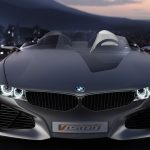 Luxury BMW concept car desktop wallpaper HD download