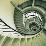 Spiral Staircase, Ponce de Leon Inlet Lighthouse, Florida wallpaper