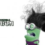 Despicable me 2, Hulk, incredible desktop wallpaper