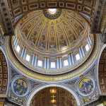 St. Peter's Basilica, Vatican, dome picture, interior design, architecture wallpaper