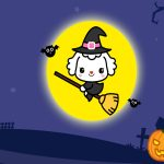 Halloween love miley cartoon wallpaper