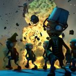 3D Plants vs Zombies Game Wallpaper