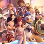 Kingdom Heart 2, Disney, Hero, Beauty, Castle, Sky, Game Wallpaper