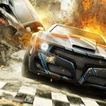 Racing game wallpaper picture