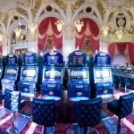 Slot machine hall hd wallpaper