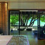 Maldives, Moofushi, resort, beautiful, bed, room, wallpaper