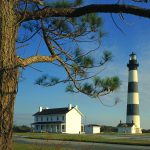 Bodie Island Lighthouse, Cape Hatteras National Seashore, North Carolina desktop background