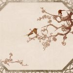 Fragrant plum wallpaper