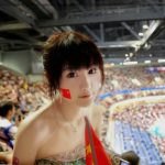 2008 Beijing Olympics beauty audience wallpaper