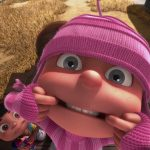 Despicable me, little girl, funny expression, movie wallpaper