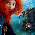 Brave, princess, red hair, HD movie wallpaper
