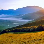 Wonderland-like Italian landscape scenery widescreen desktop wallpaper