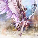 Aion Tower Wings Wallpaper