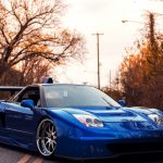 Acura, NSX, Tuning, JDM, Blue Car, Wallpaper