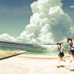 Nice anime landscape beauty picture wallpaper
