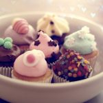 Cute and tempting desserts beautiful wallpaper