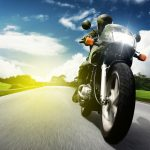 Motorcyclist desktop wallpaper