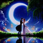 Romantic night wallpaper