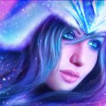 Beautiful game beauty avatar HD wallpaper