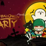 HD Halloween Cannonball Cartoon Wallpaper Desktop