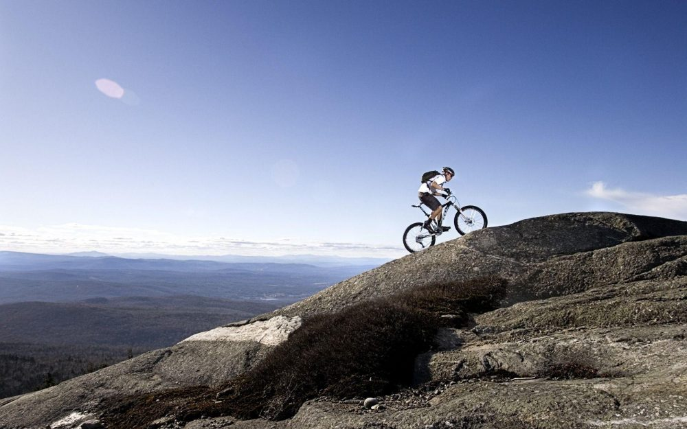 Bicycle cross country wallpaper