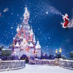 Christmas castle widescreen beautiful wallpaper