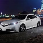 Acura TL, night car pictures, computer wallpaper