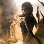 Tomb Raider Rise, Beauty, Gunman, Game Wallpaper