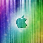 HD Apple Colorful Computer Wallpaper Background