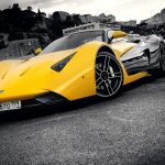 Yellow cool car computer wallpaper HD download