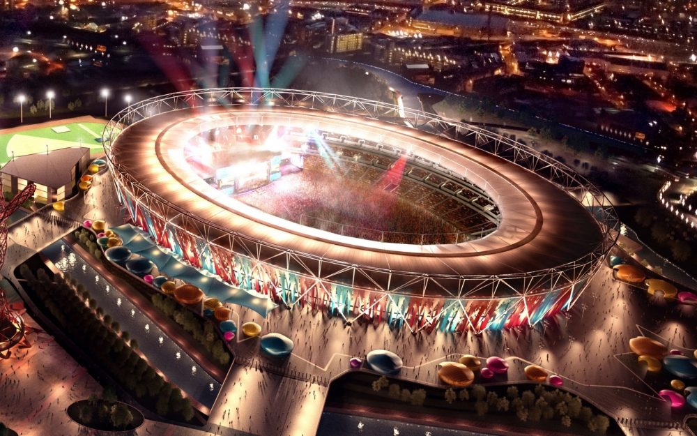 Stadium in London 2012 Olympic Games wallpaper