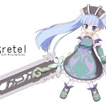 gretel, dress, sword, juushi akazukin, girl
