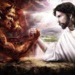 Jesus and Satan HD Wallpapers