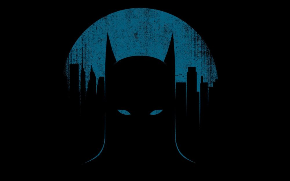 Batman, city, silhouette, cool, personality, batman pictures, desktop wallpaper