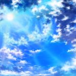 Beautiful sunlight, clouds, sky, sun, blue, rays, beauty