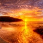 African seaside sunset beautiful mood HD wallpaper pictures