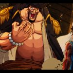 black beard and luffy