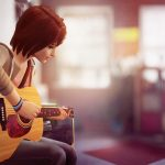 Girl guitar game character wallpaper