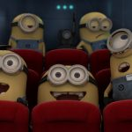 Despicable me little yellow man cinema cute desktop wallpaper