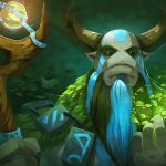 DOTA2, magic, cow monster, theme game beautiful pictures, desktop wallpaper