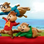 Alvin & Chipmunk Road 3D Animated Movie HD Desktop Wallpaper