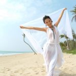 Asian, beach, sand, cape