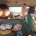 Despicable Me, Despicable Dad, Little Yellow Man, Car Picture, Little Yellow Man Movie Wallpaper