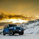 car, jeep wrangler polar