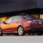 side view, acura, red, rl, sedan, style, auto
