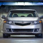 tsx, acura, front view, cars, gray metallic, 2008, style wallpaper