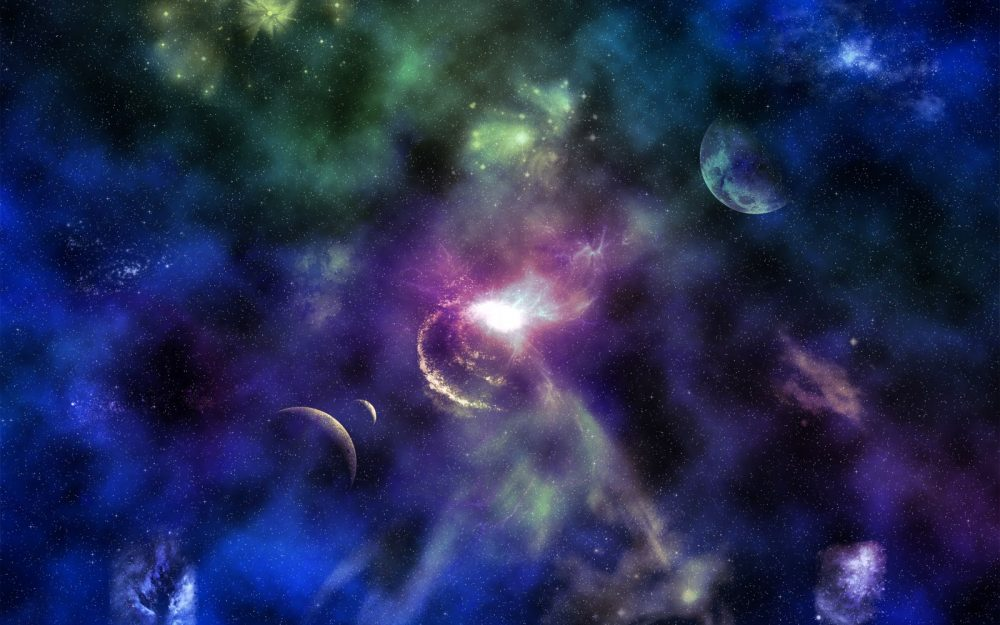 Mysterious space hd wallpaper
