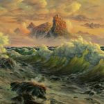 Fantasy, Reproduction, wave, sea