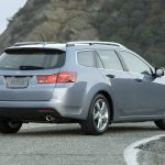 style, acura, nature, tsx, rear view, 2010, cars, blue metallic wallpaper